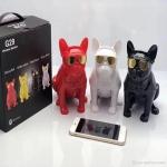 New Bluetooth Speaker G29 Bulldog Whole Body Dog Subwoofer with Stand Mini Speaker-2123