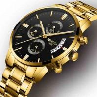 NIBOSI Men Watches Luxury Famous Top Brand Mens Fashion Casual Dress Watch Military Quartz Wristwatches Relogio Masculino Saat-3196