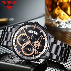 NIBOSI Men Watches Luxury Top Brand Men Watch-3175