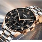 NIBOSI Mens Sport Watches Men Waterproof Luxury Brand Watch Fashion Full Steel Analog Quartz Wristwatch Relogio Masculino-3174