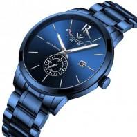 NIBOSI Mens Watches Top Brand Luxury Original Analog Watch For Men Waterproof Luxury Casual Stainless Steel Erkek Kol Saati-3198