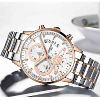 NIBOSI Top Brand Luxury Quartz Wristwatches Elegant Men Watches New Type Relogio Masculino Stainless Steel Watch for man-3188