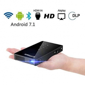 P8I MINI SMART ANDROID WiFi BLUETOOTH PROJECTOR-2145