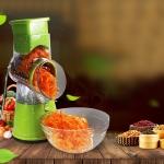 GutReise Vegetable 3-Blade Spiral Slicer Best Veggie Pasta Spaghetti Maker Slice-2575