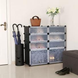 Plastic duel Shoe Cabinet-435