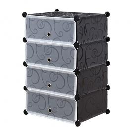 Plastic single Shoe Cabinet-436