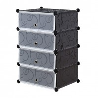 Plastic single Shoe Cabinet-436