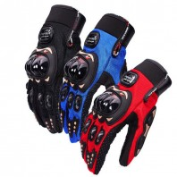 Pro-Biker Motorbike Racing Full Finger Gloves (M/L/XL)- 3528