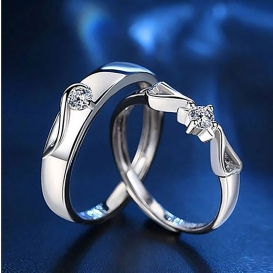 Jewelry Couple Finger Ring-jw5006