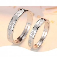 ECG couple ring-jw5012