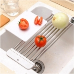 Fold-able Stainless Steel Sink Racks-2569