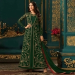 Sonal Chauhan Faux Georgette Floor Length Anarkali Suit-4634