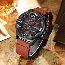 Special Curren Watch Best Quality (Chocolate)-3020