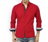 Stylish full sleev shirt -dred8