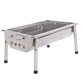 Portable Folding Stainless Steel BBQ-2545