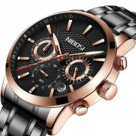 Stainless Steel Mens Chronometer Watch-3204
