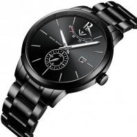 Stainless Steel Nibosi Watch Men Fasshion quartz watch woterproof-3165