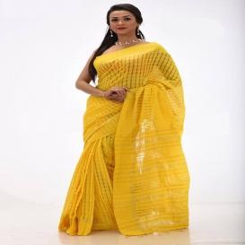 Tangail Reyon Silk Saree 1057