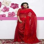 Tangail Silk Jamdani Saree 105