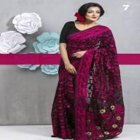 Tangail Silk Jamdani Saree 107