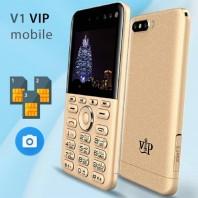VIP V1 3-Sim 4 camera Card Phone-2064