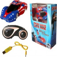 Remote control captain america RC wall climber toys avengers kids-4045
