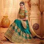 Women's Dazzling Wear Lehenga Choli Replica-4644
