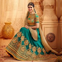 Women's Dazzling Wear Lehenga Choli Replica-4644