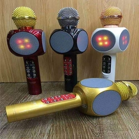 Karaoke KTV MIC Portable Bluetooth Speaker mic Wster WS-356