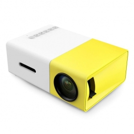 YG-300 LCD Mini Portable LED Projector 1080P Support 400 - 600 Lumens 320 x 240 Pixels Home Cinema projector-2147